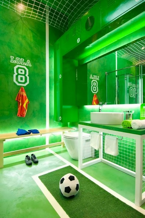 Soccer Room Designs: Design Around The World... Cup